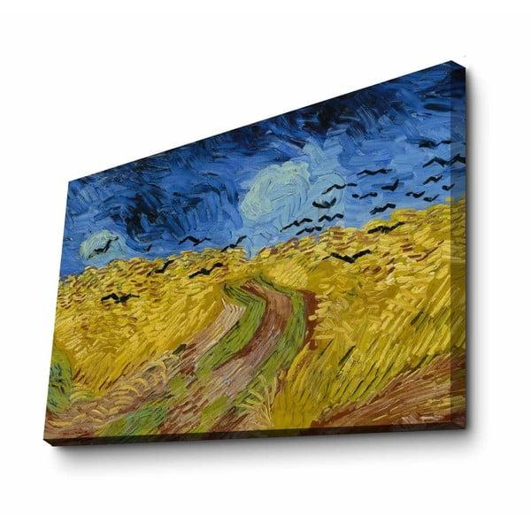Nástěnná reprodukce na plátně Van Gogh, 100 x 70 cm