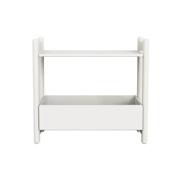 Biała szafka/organizer Flexa Shelfie, wys. 74 cm