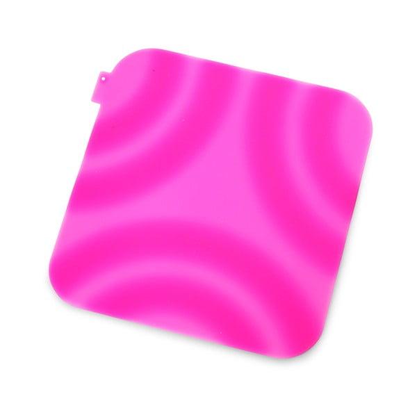 Różowa silikonowa łapka kuchenna Vialli Design