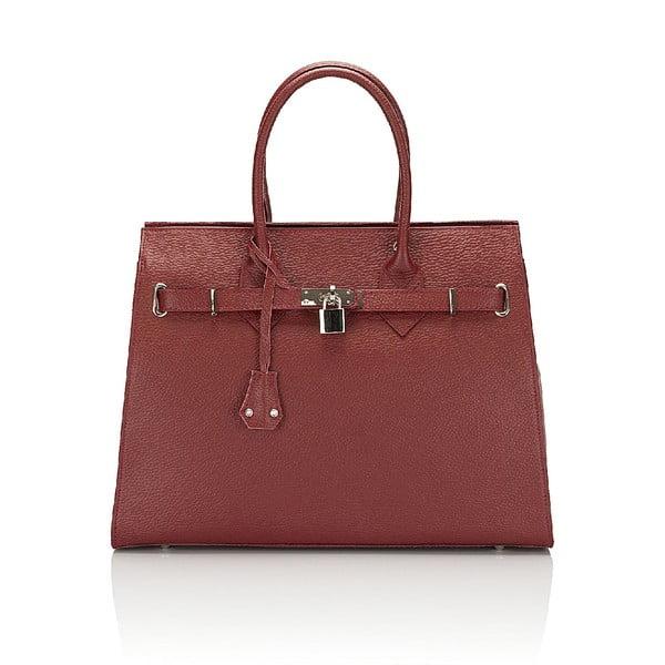 Kožená kabelka Giorgio Costa 15019 Red