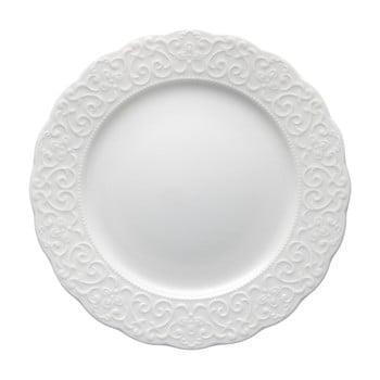 Farfurie din porțelan Brandani Gran Gala, ⌀ 21 cm, alb