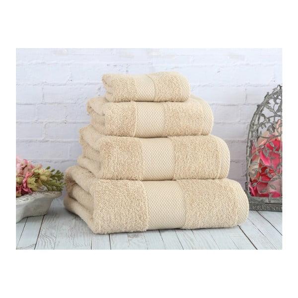 Béžový ručník Irya Home Coresoft, 30x50 cm