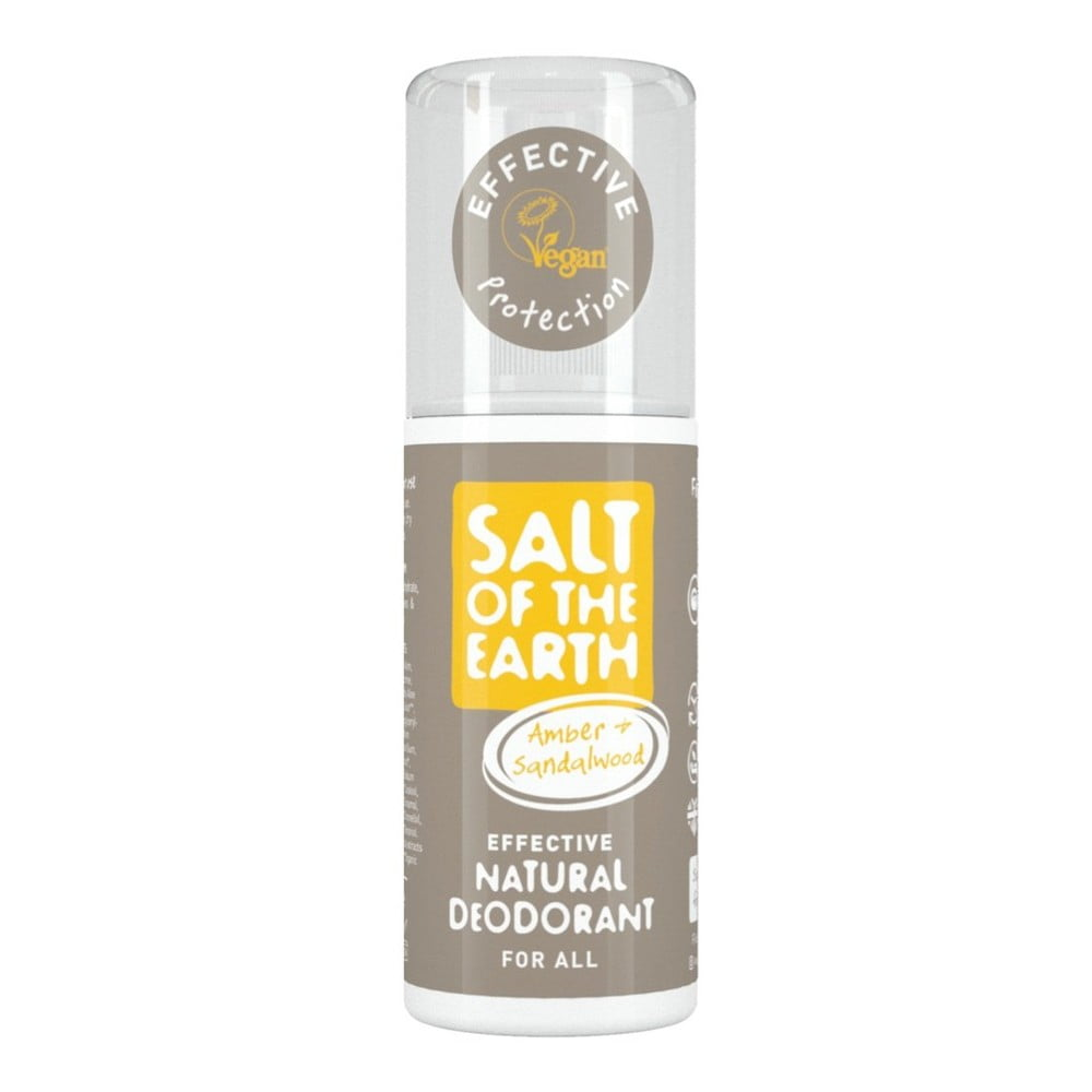Přírodní deo sprej Salt of the Earth Pure Aura Ambra Santal, 100 ml