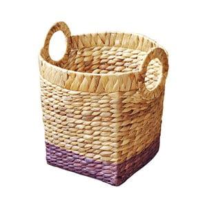 Ručně vyráběný koš z vodního hyacintu a'miou home Classico, průměr30cm