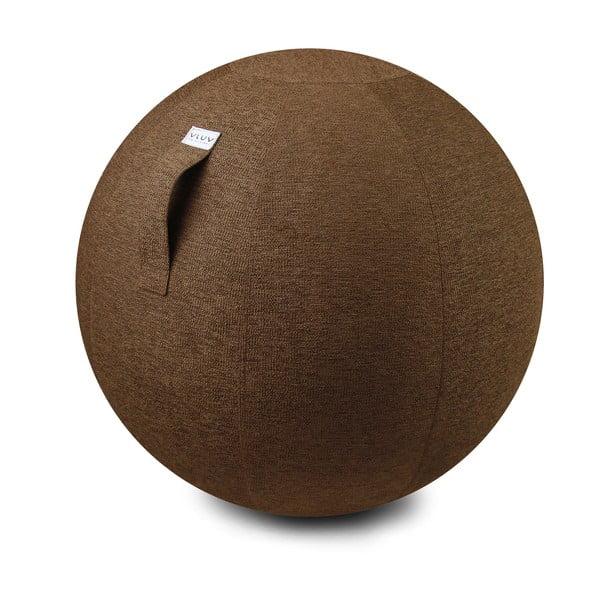 Sedací míč VLUV 75 cm, hnědý