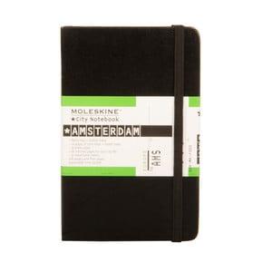 Zápisník Moleskine City Amsterdam