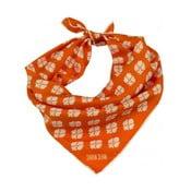 Hedvábný šátek Shirin Sehan - Ines Pomegranate