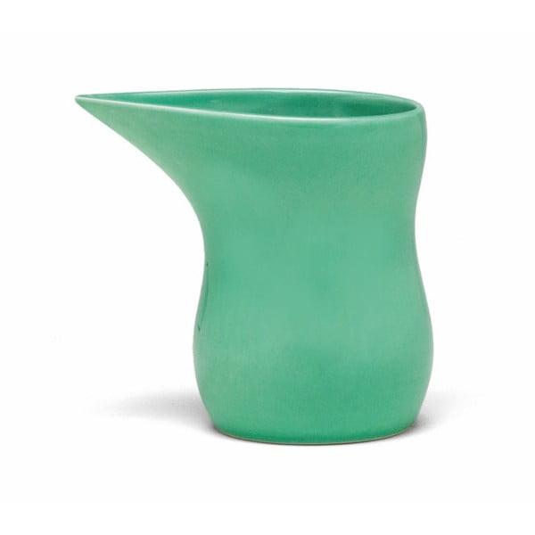 Zelená kameninová nádoba na mlieko Kähler Design Ursula, 280 ml