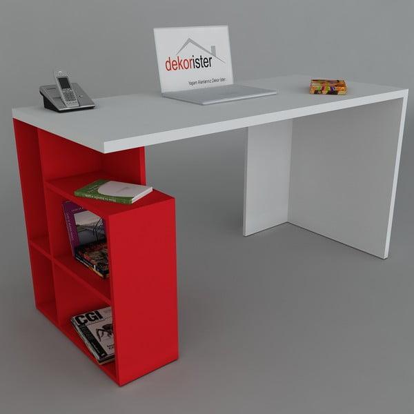 Pracovní stůl Labran Red, 60x120x73,8 cm