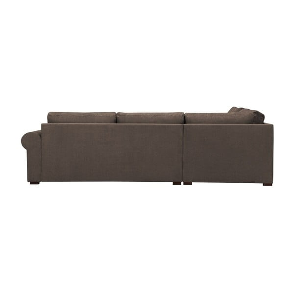 Hnedá pohovka Windsor & Co Sofas Hermes, pravý roh