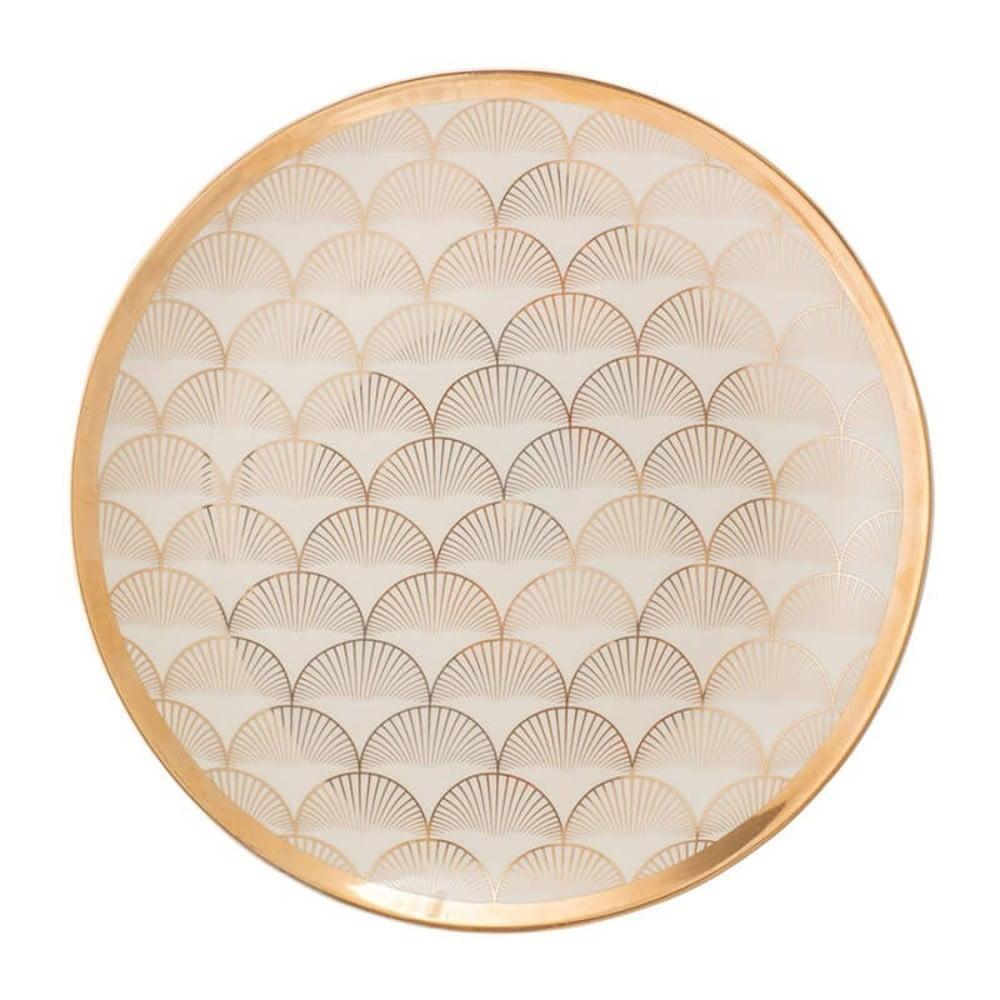 Keramický talíř Bloomingville Aruba, ⌀ 25 cm