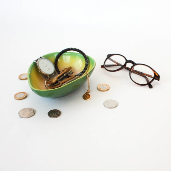 Bol decorativ Gift Republic Avocado