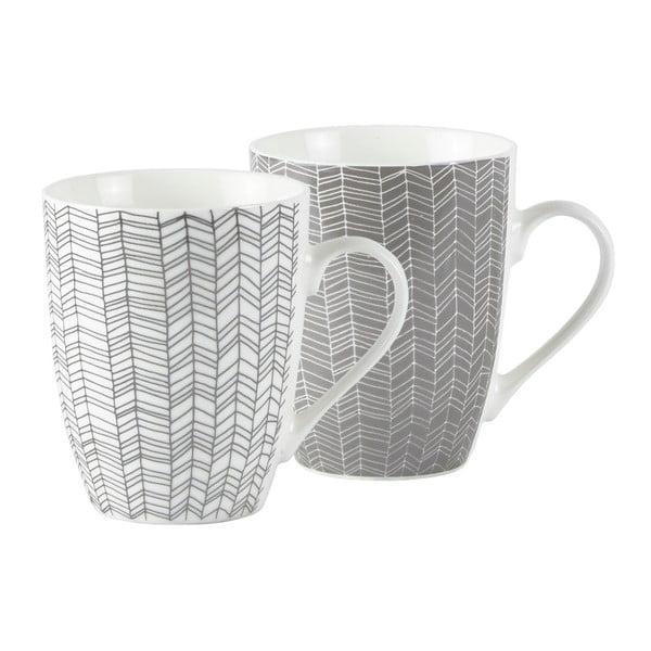 Sada 2 porcelánových hrnků KJ Collection