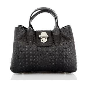Černá kožená kabelka Glorious Black Marika