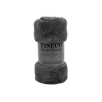 Pătură Tiseco Home Studio Fluffy, 150 x 200 cm, gri de la Tiseco Home Studio