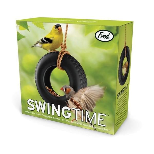 Krmítko pro ptáky Fred & Friends Swing Time