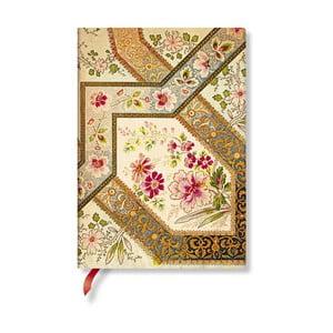 Zápisník s měkkou vazbou Paperblanks Filigree, 13x18cm