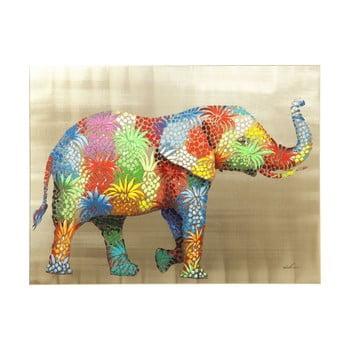 Tablou Kare Design Touched Flower Elefant, 120 x 90 cm de la Kare Design