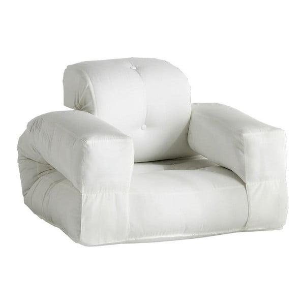 Fotoliu extensibil potrivit pentru exterior Karup Design Design OUT™ Hippo White, alb