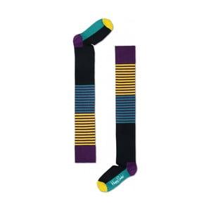 Nadkolenky Happy Socks Blocks, vel. 36-40