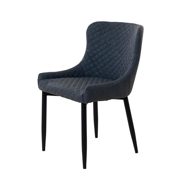 Szare krzesło tapicerowane Unique Furniture Ottowa