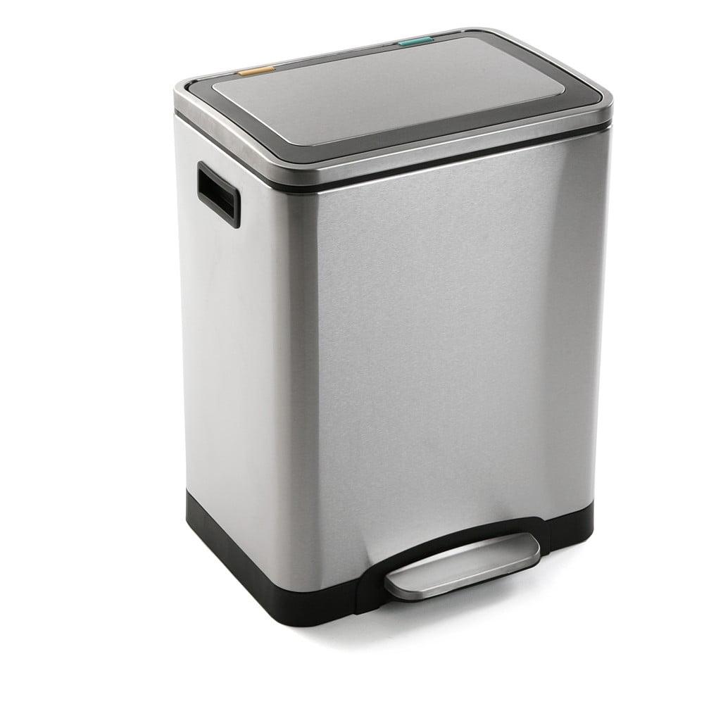 Odpadkový koš Versa Inox, 30 l