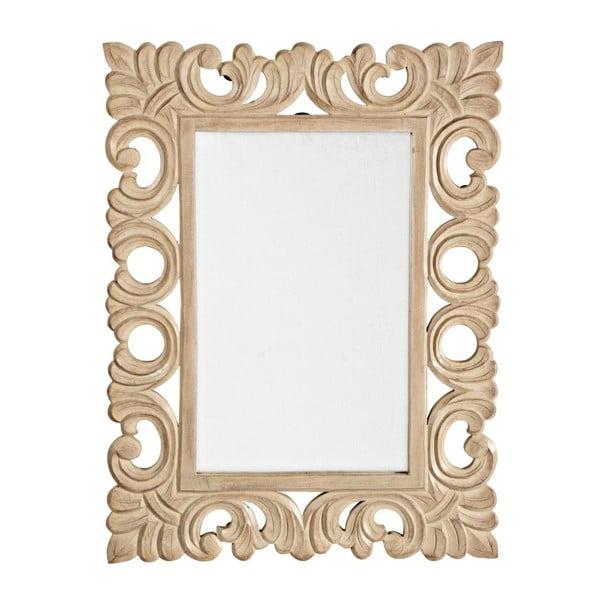 Nástěnné zrcadlo Dalila Naturale, 45x60 cm