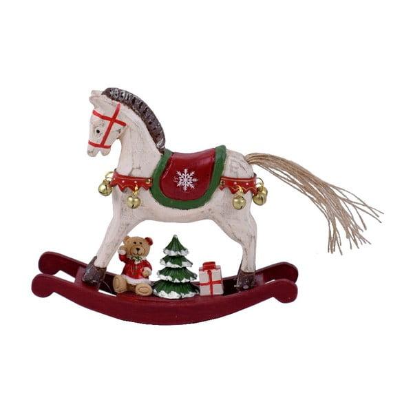 Dekorácia z dreva v tvare hojdacieho koňa Ego dekor Ponny, výška 14,5 cm