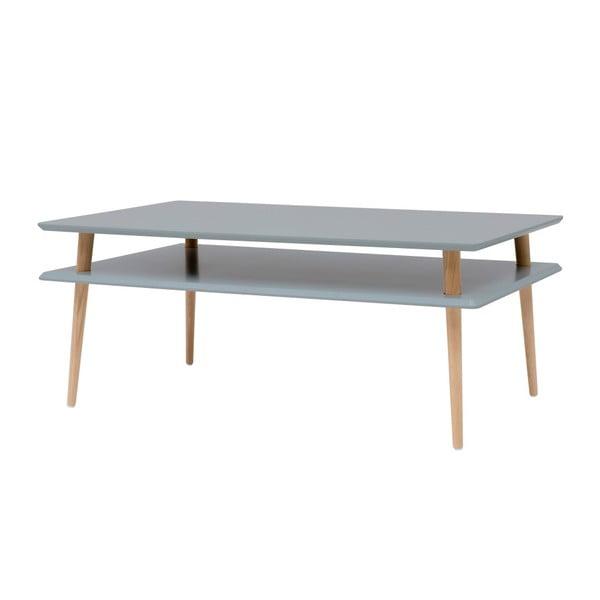 Tmavě šedý konferenční stolek Ragaba KORO