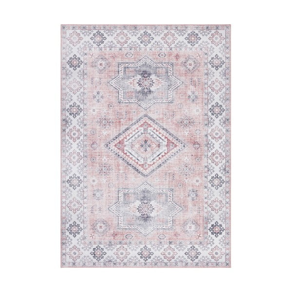 Jasnoróżowy dywan Nouristan Gratia, 160x230 cm