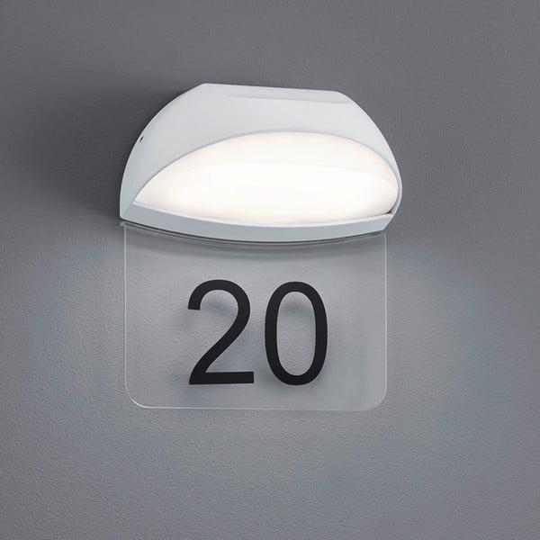 Venkovní nástěnné světlo Muga White, 19 cm