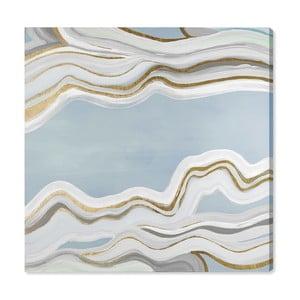 Obraz Oliver Gal Glacier Flow, 40x40cm