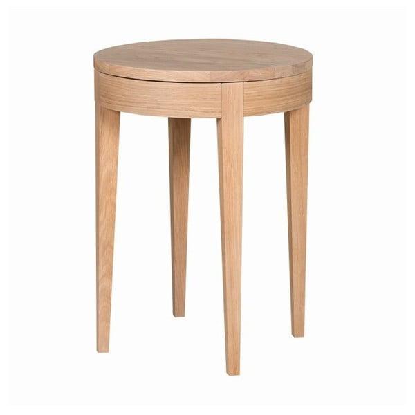 Odkládací stolek Secret Oak, 55x40 cm