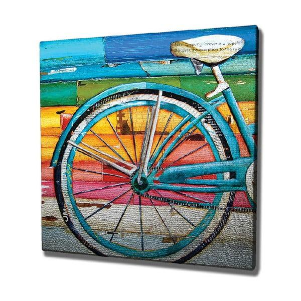 Bike vászon fali kép, 45 x 45 cm
