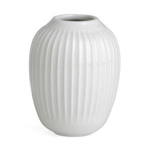 Bílá kameninová váza Kähler Design Hammershoi,výška 10 cm