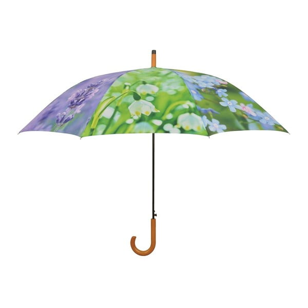 Parasol w kawiaty Esschert Design, Ø 120 cm