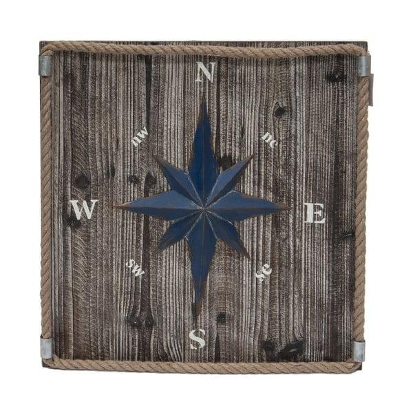 Dekorace na stěnu Kompas