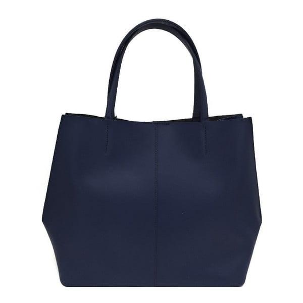 Kožená kabelka Cleia Blue