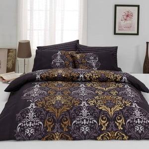 Lenjerie de pat din bumbac cu cearșaf Julie, 200 x 220 cm