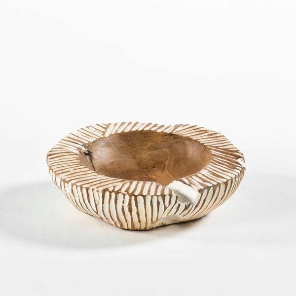 Miska ze dřeva a keramiky Thai Natura, Ø 30 cm