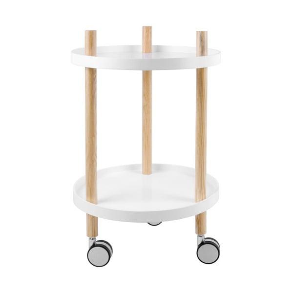 Dwupoziomowy stolik na kółkach Leitmotiv Kitchen Trolley