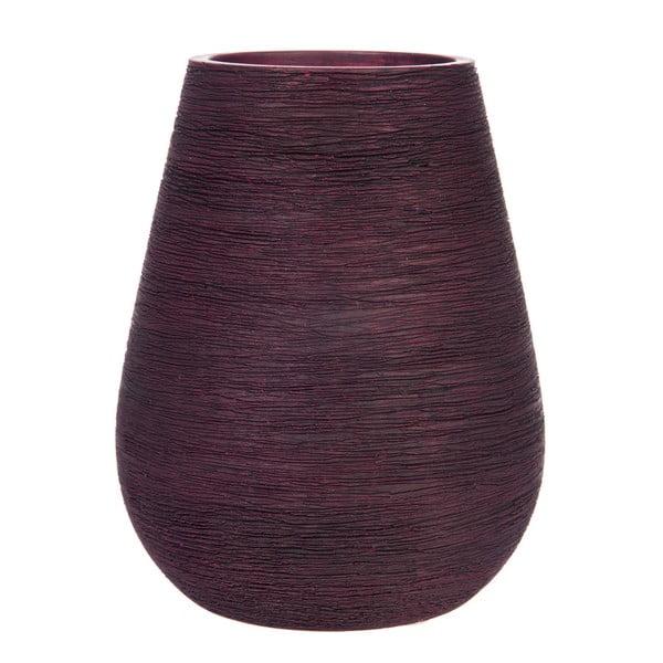 Váza Lines Burgundy