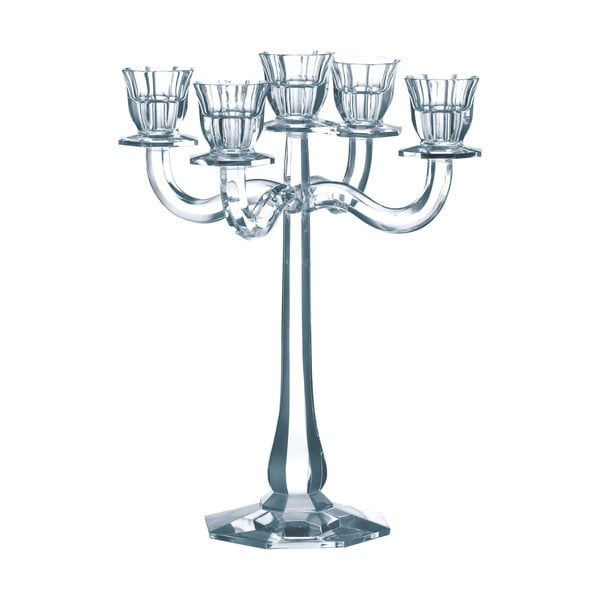 Svietnik na 5 sviečok z krištáľového skla Nachtmann Ravello