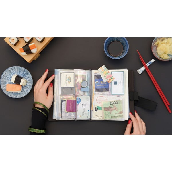 Cestovatelský deník na zážitky a suvenýry Trip Book Solena