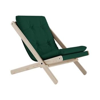 Scaun pliabil Karup Design Boogie Raw/Forest Green imagine
