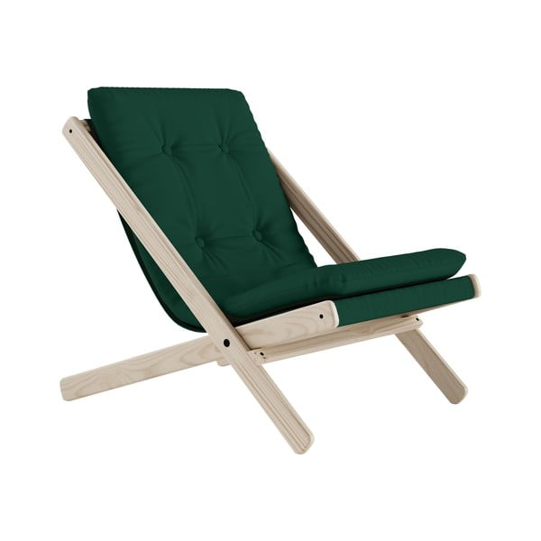 Scaun pliabil Karup Design Boogie Raw/Forest Green