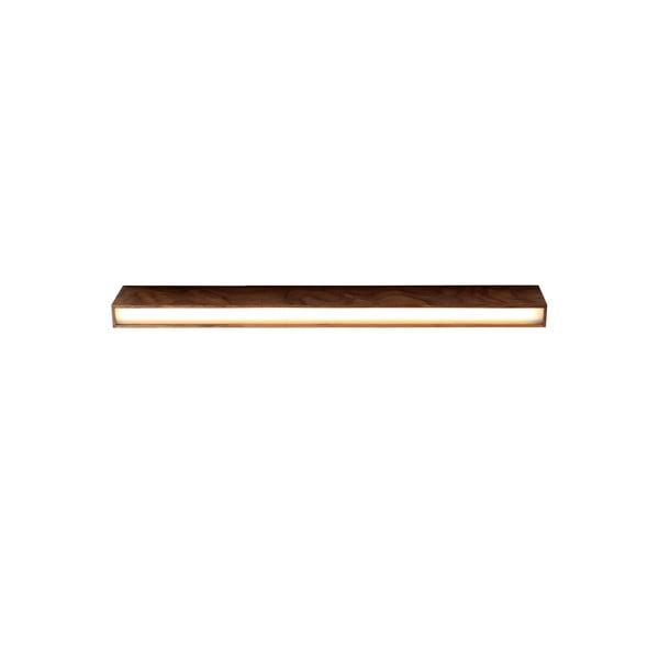 Plafonieră din lemn de nuc Custom Form Line Plus L