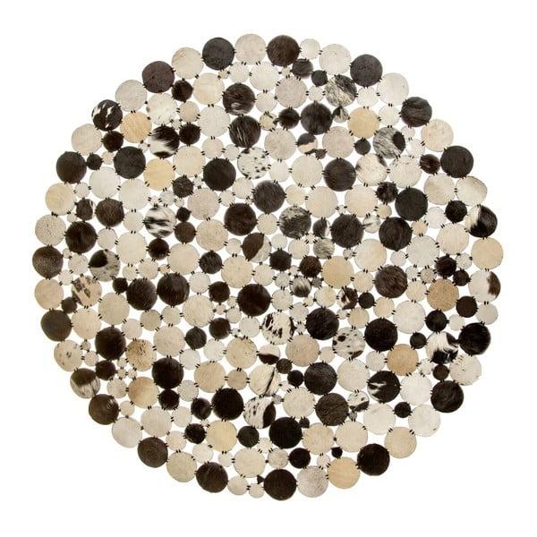 Koberec Palazzo 110 cm, černý/bílý