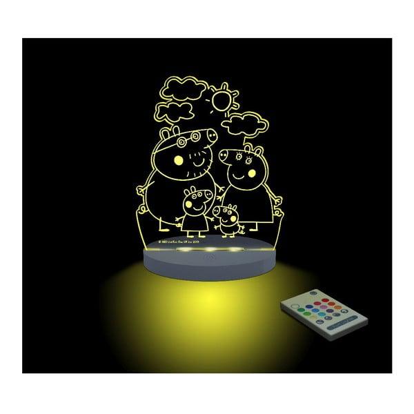 Dětské LED noční světýlko Peppa Pig Familia