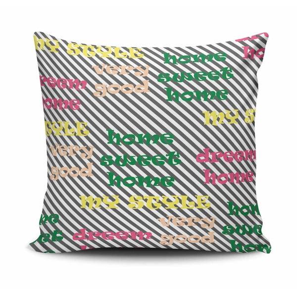 Povlak na polštář s příměsí bavlny Cushion Love Ferma, 45 x 45 cm